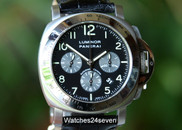 Panerai PAM 162 Luminor Chronograph w Montagrappa Pen LTD, 44mm