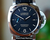 Panerai PAM 1392 Luminor Marina 1950 3 Days Auto Acciaio, Blue Sub hand 42mm