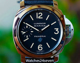 Panerai PAM 631 Luminor Marina Blue Logo Acciaio 44mm ON HOLD