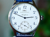 IWC Portuguese F.A. Jones Limited Edition Enamel Dial Stainless Steel 42mm