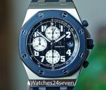 Audemars Piguet Royal Oak Offshore Chronograph Rubber Clad Black Dial