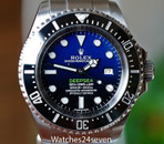 Rolex Deepsea Sea Dweller James Cameron Deep Blue 44mm, Ref. 116660