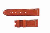 Hermes Style Preshrunk Calf 22/20 Short Orange