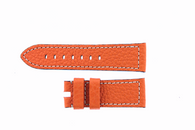 Hermes Style Preshrunk Calf 24/22 Short Orange