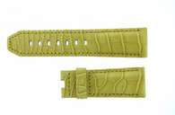 Panerai OEM Yellow Alligator Strap 24/22