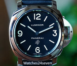 Panerai PAM 1000 Luminor Base Black Logo Dial Acciaio 44mm