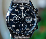 Tag Heuer Carrera Calibre 16 Chronograph Black PVD Titanium 43mm