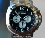 Panerai PAM 52 Luminor Chronograph Titanium & Steel 40mm Limted Edition 1999