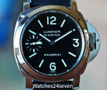 Panerai PAM 111 G Luminor Marina Painted Dial 44mm
