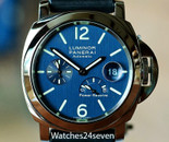 Panerai PAM 207 Luminor Power Reserve Blue LTD for Sincere 44mm