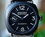 """Panerai PAM 292 Radiomir Black Seal """"No Pig"""" Dial, Ceramic 45mm"""
