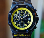 Audemars Piguet Royal Oak Offshore Chronograph Carbon Bumblebee 42mm ON HOLD