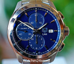 TAG HEUER Link LTD Leonardo DiCaprio Blue Chronograph Automatic 43mm