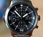 IWC Aquatimer Automatic Chronograph Black Dial 44mm