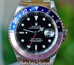 Rolex Master II GMT Faded Pepsi Bezel 40mm
