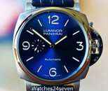 PANERAI PAM 727 LUMINOR DUE BLUE 3 DAYS AUTOMATIC TITANIO  45MM