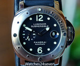 Panerai PAM 24 Luminor Submersible Automatic Date Steel 44mm