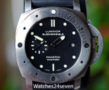 PANERAI PAM 305 Luminor Submersible 3 Days Auto Titanium 47mm
