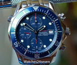 Omega Seamaster Chronograph Diver 300 Meter Blue Dial 42mm