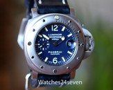 Panerai PAM 87 F Submersible 1000m Dark Blue Dial 44mm ON HOLD