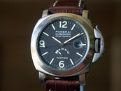 Panerai PAM 57 Luminor Marina Titanium Power Res. Hobnail Tobacco Dial 44mm