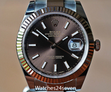 Rolex Datejust II Chocolate Dial Steel & Everose Gold 41mm