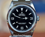 Rolex Explorer I Stainless Steel Oyster Perpetual 36mm Ref. 14270 ON HOLD