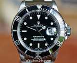 Rolex Submariner Stainless Steel 40mm Ref. 16610 P