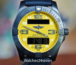 Breitling Aerospace EVO Night Mission 30th Anniversary DLC & Yellow LTD 43mm