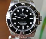 Rolex Submariner Stainless Steel No Date Ceramic Bezel 40mm