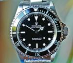 Rolex Submariner Steel Black 2 Liner Dial No Date 40mm Ref. 14060