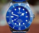 Tudor Pelagos Chronometer Automatic Date Blue Dial Diver 42mm