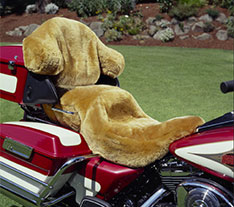Motorcycle Sheepskin