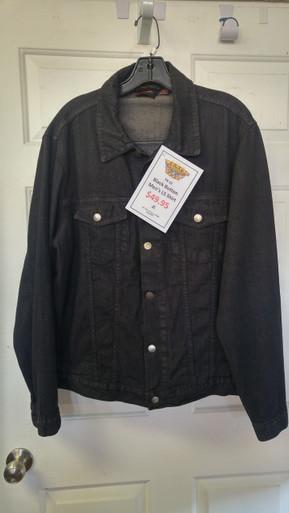 Black, Button, Long Sleeve Shirt