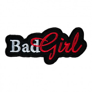 Bad Girl Cut Out Patch