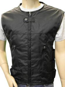 Black Textile Tactical Vest