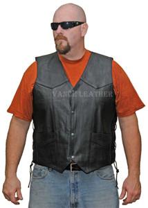 Men's Milled Lace Side Vest