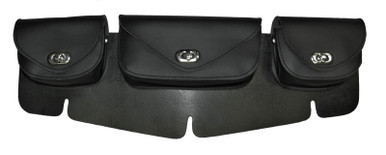 3 compartment windshield bag