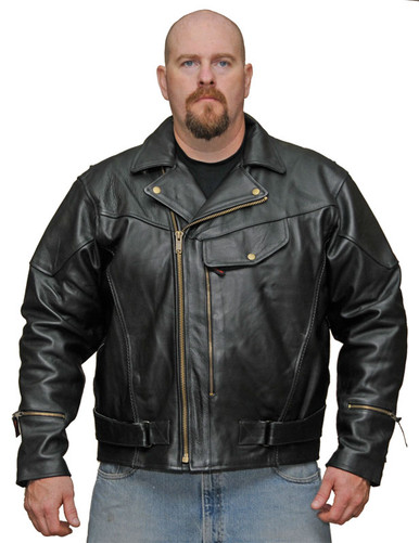Men's Chief Jacket Milled Leather