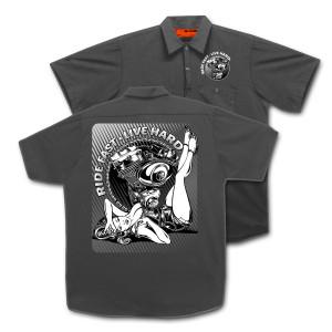 Ride Fast Live Hard Work Shirt