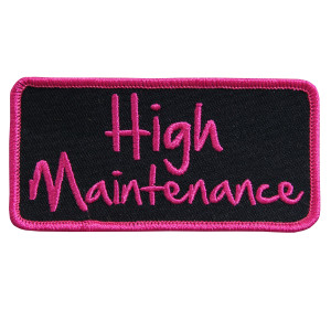 High Maintenance Patch