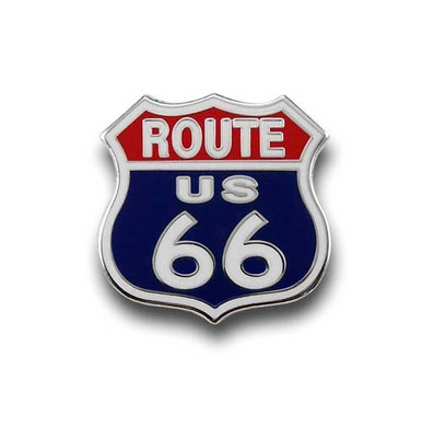 Route 66 Pin with wings