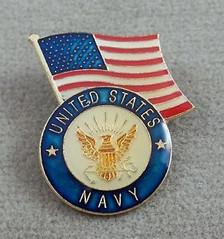 Navy Pin