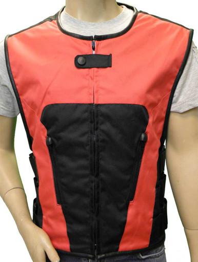 Red Textile Tactical Vest