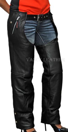 Naked Leather 4 Pocket Chap