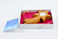 Christmas Star Candle Holder (Gift Pack)