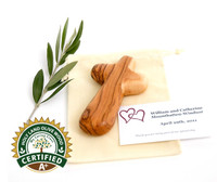 A+ Certified Olive Wood Wedding Cross ($4.99 each)