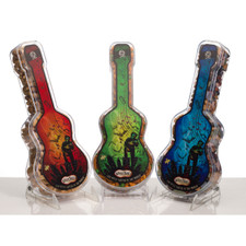 "austiNuts Small Guitars are a great gift from Austin - Live Music Capital of the World.  Guitar size: 8.5"" x 3.5"" x 2"""