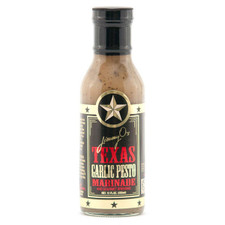 austiNuts carries Jimmy O's Texas - Texas Garlic Pesto Marinade to help you complete your perfect gift basket, care package, or when you are planning an evening on the grill!