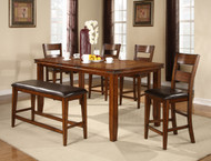 FIGARO 5 PC DINING SET CTR HT